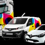 Rotulos para coches en valencia Newtunig publicidad en coches